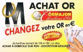 Achat Or Perpignan - ORMAJOR  Perpignan